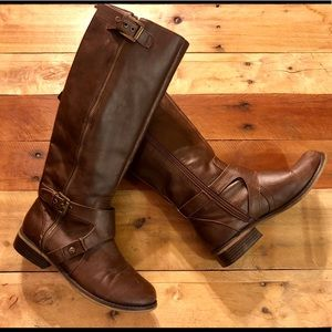 Guess Brown Riding Boots 7.5